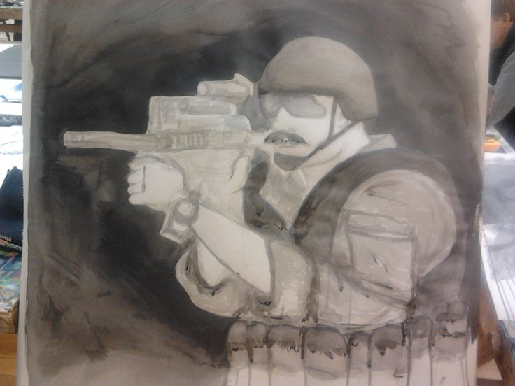 Soldier 2 - Indian Ink