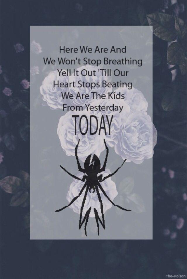 My Chemical Romance | The Kids From Yesterday lyrics