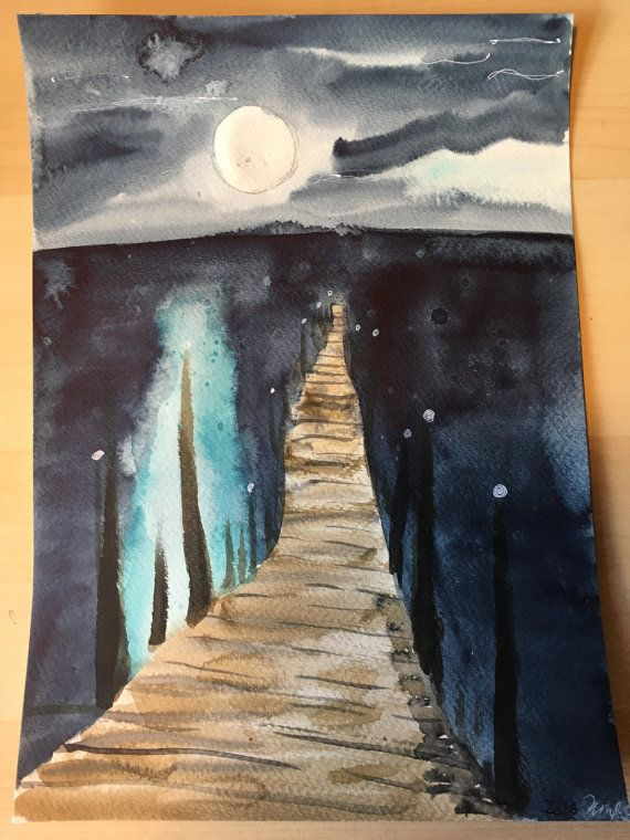 Jetty under the moonlight by KnottyThistle on Etsy