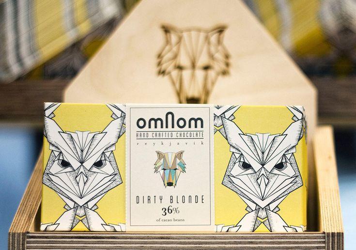 Omnom Handmade Chocolate — The Dieline