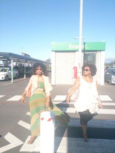 Afro ladies..