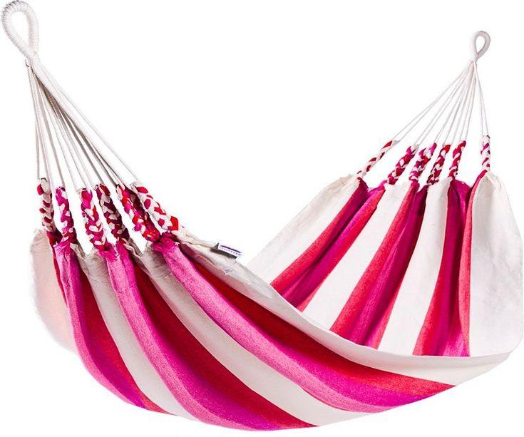 Naya Nayon Cult 2-persoons hangmat  Naya Nayon Cult voor twee personen Deze fleurige hangmat van Naya Nayon is gemaakt in Ecuador. De Otavalo-indianen hebben hem daar geweven van katoen en acryl (20%) en geverfd in vrolijke kleuren. De stof is dik geweven zodat deze bijzonder slijtvast is. Deze zachte en comfortabele hangmat kan dus jaren mee! Deze Naya Nayon Cult hangmat is ideaal om samen in te liggen luieren lezen of slapen. Hij is geschikt voor twee personen en heeft een totale lengte…