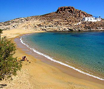 Agios Sostis beach, Serifos