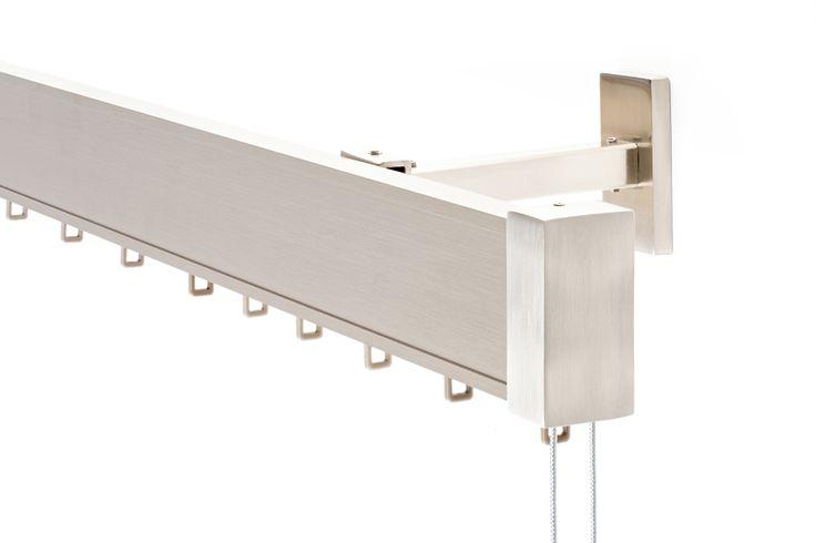Sistema ONDA refª 7000 (Suporte Oculto).   Também disponível sistema tradicional (franzir, machos, ...)
