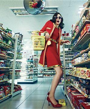 Harper's Bazaar Korea August 2014