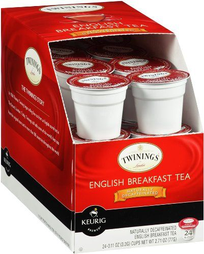 Twinings English Breakfast Decaffeinated Tea K Cup Portion