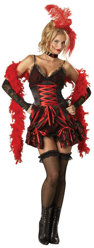 Dance Hall Darling Sexy Saloon Girl Costume Saloon Girl Costumes - Mr. Costumes