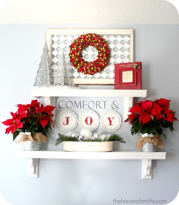 Top 40 Holiday Decoration Ideas For Kitchen: 124 Best Shelves Beautifully Decorated. Images On