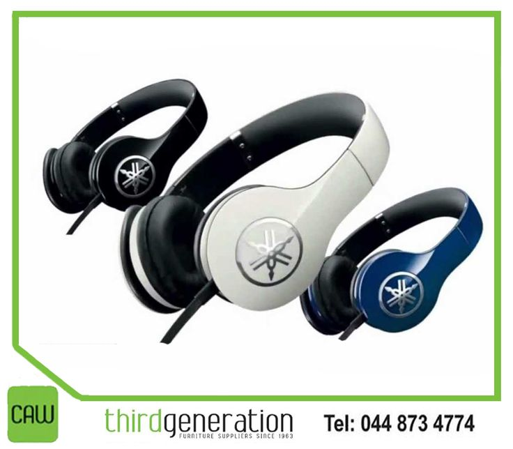 #TuesdayTip: Buy these new set of headphones. They are the easiest and least costly way to get better sound. Pop in at #ThirdGenerationCAW for this #Yamaha HPH-PRO300 headphones. Contact us on 044 873 4774.