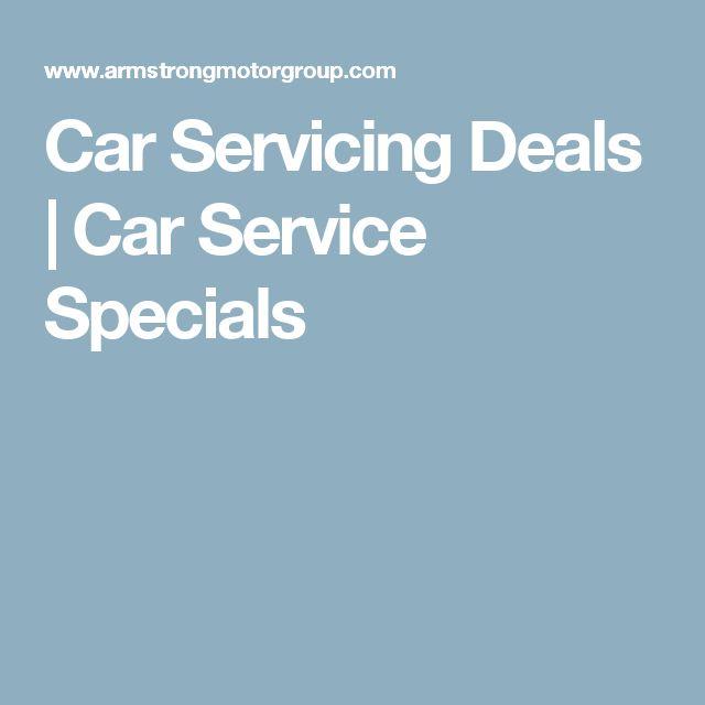 Car Servicing Deals | Car Service Specials