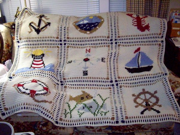 nautical Knit/Crochet/Sew Pinterest