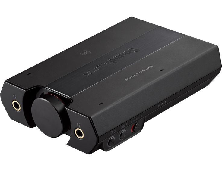 The Sound Blaster E5 is a 24-bit/192kHz high resolution USB DAC and portable headphone amplifier. Built with precision audiophile components, a best-in-class 600 ohm headphone amplifier and aptX technology for Bluetooth, the Sound Blaster E5 is the perfect audio component for music lovers, whether they are on the move or beside their PC/Mac.