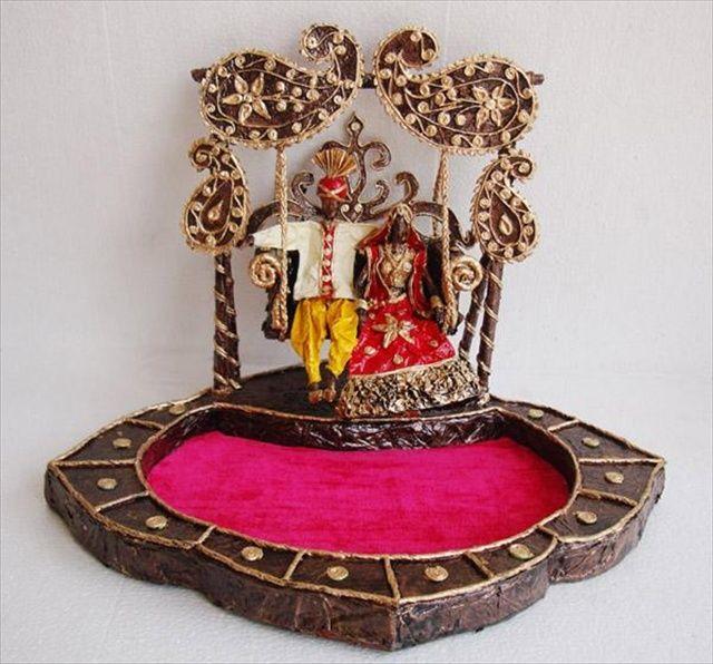 DIY Diwali Craft DIY Decorative Trays