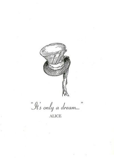 Alice in Wonderland -- Tattoo idea... Fallen in love with a tattoo?