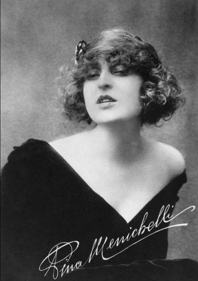 Pina Menichelli, early Italian silent film star