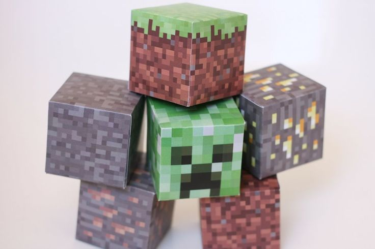 Printable Minecraft blocks // Free Download - Pure Sweet Joy