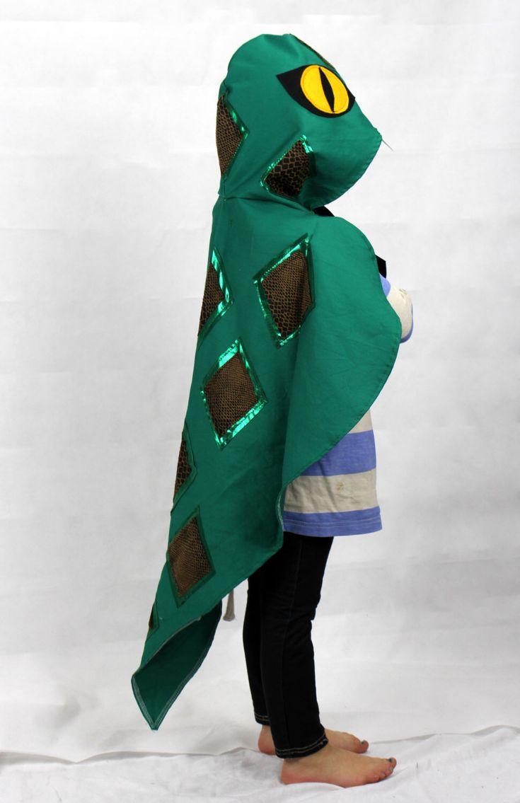 Snake Costume Cape  - Childrens fancy dress - halloween - party - kids door sparrowandbcostumery op Etsy https://www.etsy.com/nl/listing/161323790/snake-costume-cape-childrens-fancy-dress