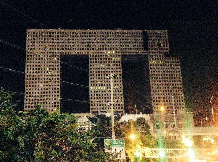 Elephant building Bangkok City