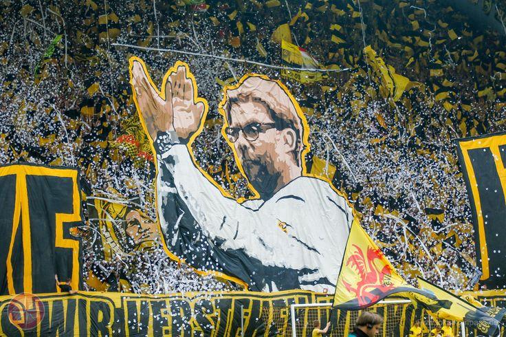 Applaus für eine Legende: Kein Trainer war länger in Dortmund in Amt als Jürgen Klopp. - Herne