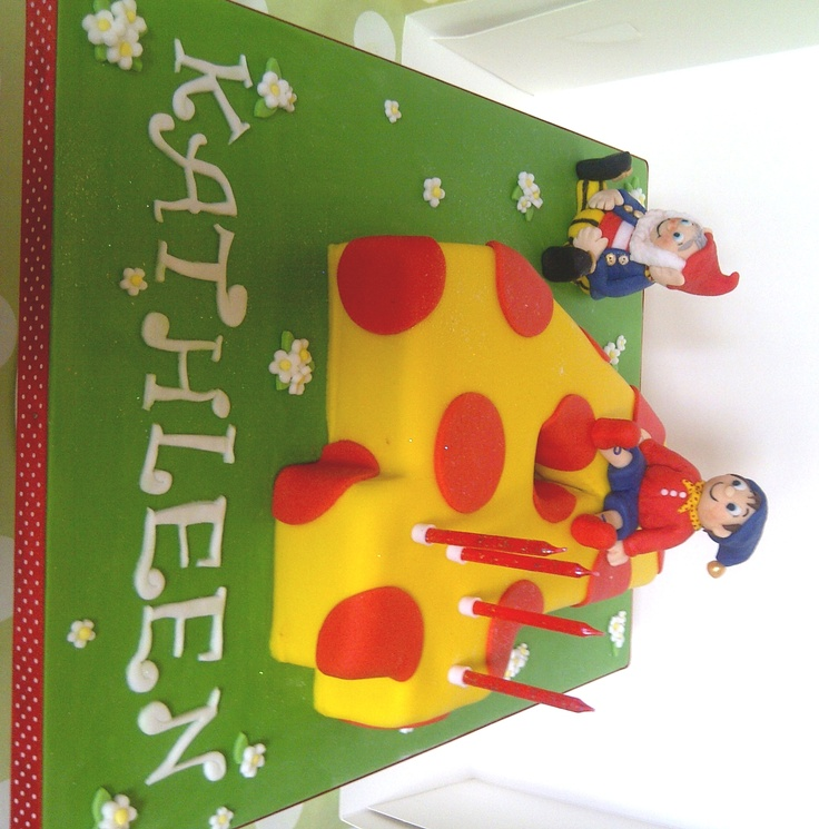 Noddy novelty 4 cake by CakeyCake