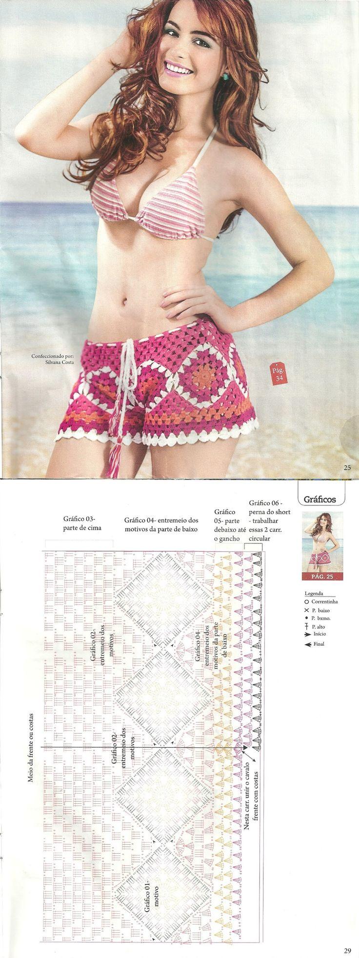 189 best blusas playeras images on Pinterest | Beachwear fashion ...