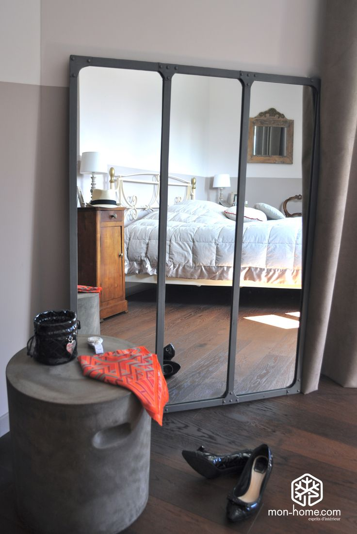 les 25 meilleures id es de la cat gorie miroir industriel. Black Bedroom Furniture Sets. Home Design Ideas