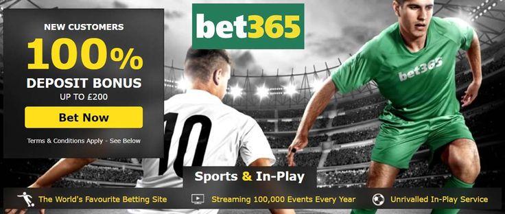 Bet365 Bonus Code 2017 for a £200 free sports bet bonus when signing up at bet365 plus no deposit bonus codes for June.