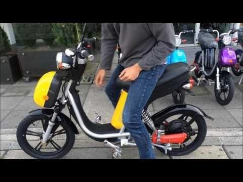 Bicicleta Electrica POP - Go Green - YouTube