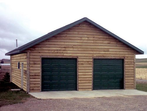 28 X 30 X 10 2 Car Garage At Menards Garage House