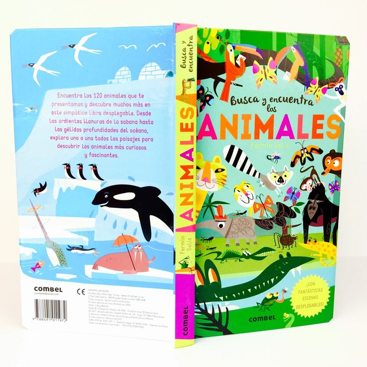 """Una oruga con chistera, una llama con gorro de lana... Entre estas páginas hay 120 animales escondidos que los peques tendrán que buscar y encontrar entre diversos hábitats. """"Busca y Encuentra los Animales"""" es un libro-juego con solapas de Combel Editorial que asegura horas de diversión en familia. :)  #libros #books #reseñas #cuentos #librosparaniños #unamamanovata"""