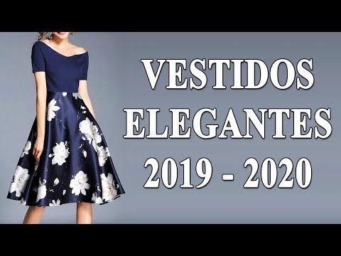 f05f930300bf VESTIDOS ELEGANTES PARA MUJER 2019 - 2020 | VER VESTIDOS DE MODA ...