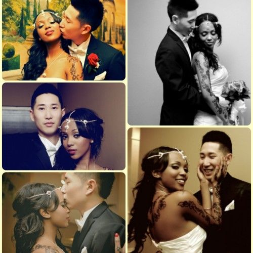 Japanese and Black couple