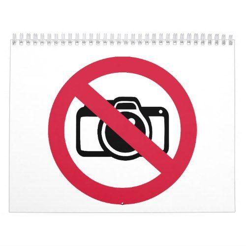No photos pictures calendar