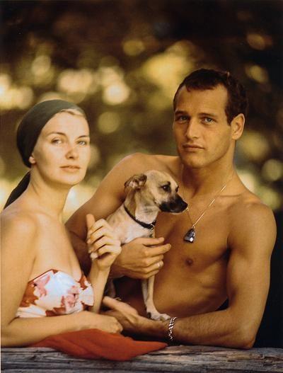 Joanne Woodward & Paul Newman: Paul Newman, Dogs, Paulnewman, Joanne Woodward, Couple, Doce Paul, Actor, Joannewoodward, Beautiful People