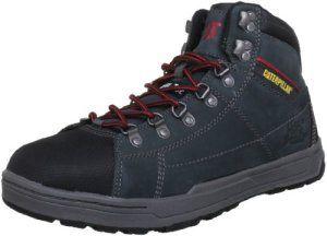 Caterpillar Brode Hi S1P, Chaussures de sécurité homme – Gris (Dark Shadow), 45 EU