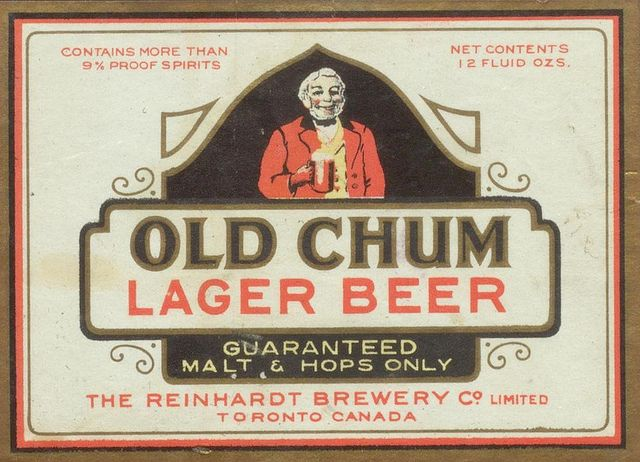Old Chum Lager Beer