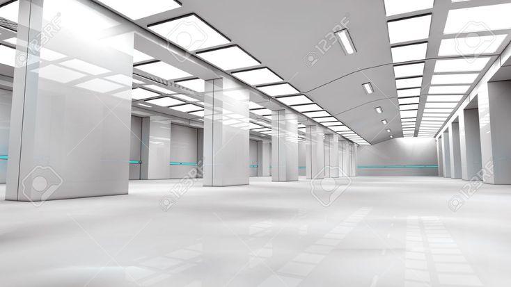 futuristic white lab - Google Search