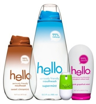 Hello personal care products