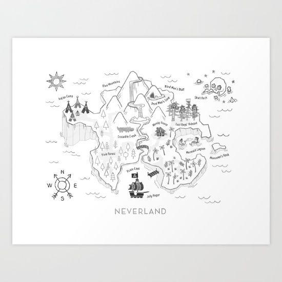 neverland, peter pan, wendy, lost boys...