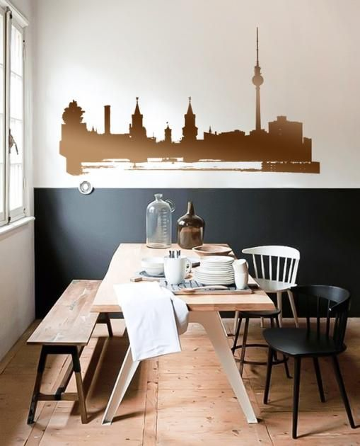 Metallic-Look für Ihre Wände: Wandtattoo im Kupfer-Look | LIVING AT HOME
