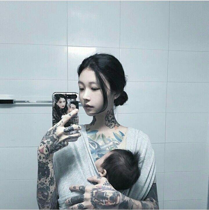Tattoo Woman Pics: ♡AsiN GiRLs In TaTtOo♡