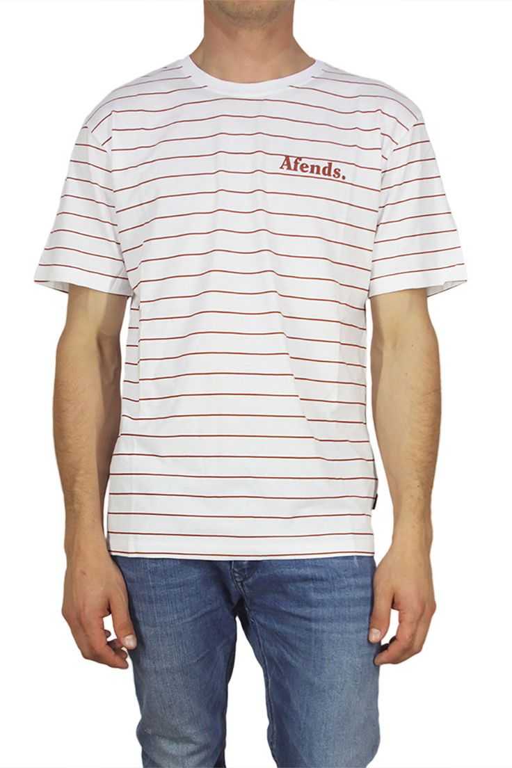 Afends Clear ανδρικό t-shirt λευκό με κόκκινες ρίγες - http://men.bybrand.gr/afends-clear-%ce%b1%ce%bd%ce%b4%cf%81%ce%b9%ce%ba%cf%8c-t-shirt-%ce%bb%ce%b5%cf%85%ce%ba%cf%8c-%ce%bc%ce%b5-%ce%ba%cf%8c%ce%ba%ce%ba%ce%b9%ce%bd%ce%b5%cf%82-%cf%81%ce%af%ce%b3%ce%b5%cf%82/