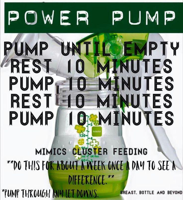 Power pump!