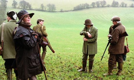 Country pursuits . . . pheasant shooting in the Cotswolds. Photograph: Janine Wiedel Photolibrary /Alamy
