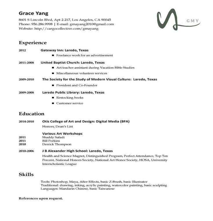 Resume Format Types  Resume Format And Resume Maker