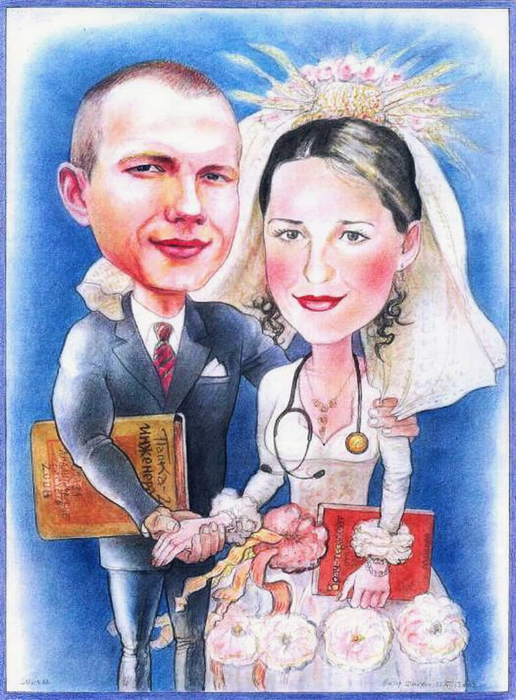 "Victor Shmokhin. ""Свадебная клятва верности""2008г Бумага/акварель, цветной карандаш .30 х 40 .(№ 3,480)"