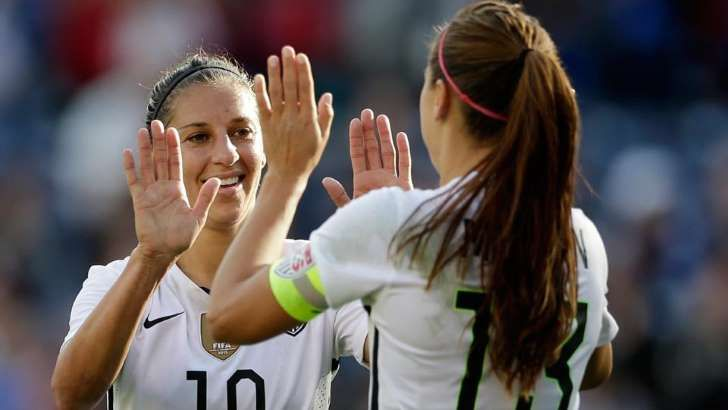 USWNT stars accuse U.S. Soccer of wage discrimination in EEOC filing