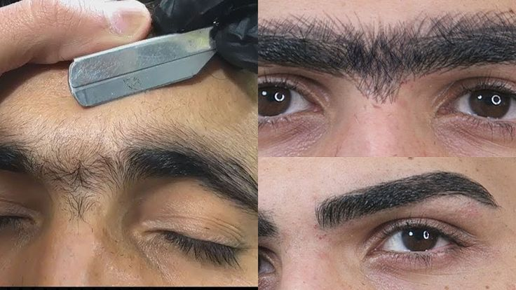 Top 5 best eyebrow transformation for men - How to shape ...