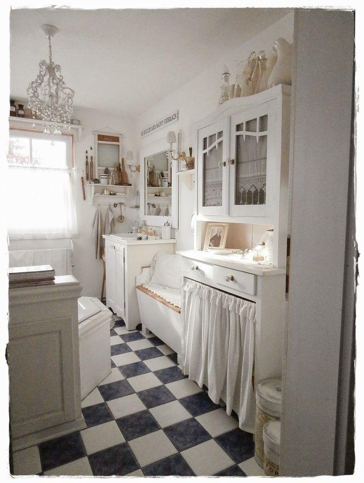 Die 25+ Besten Ideen Zu Französischer Landhausstil Auf Pinterest ... Inspirationen Badezimmer Im Landhausstil