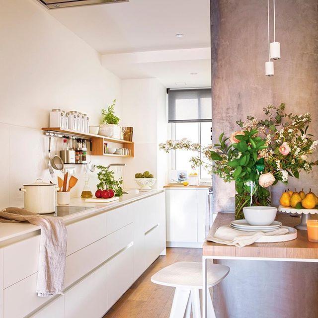 Ideas Para Cocinas Muy Pequeas. Cocinas Modernas Pequeas Es Una Idea ...